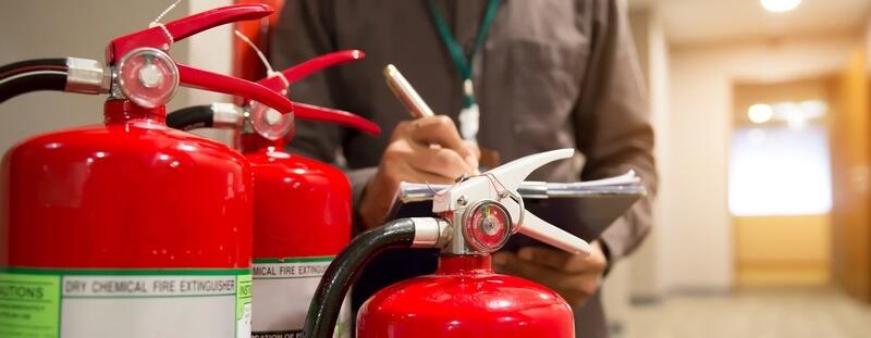 Contrôle annuel du système de prévention des incendies et des installations électriques